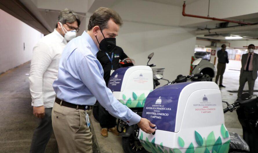 Ministerio de Industria y Comercio promueve iniciativas sostenibles; incorpora motores eléctricos para mensajería